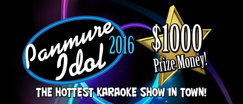 Panmure Idol Karaoke Competition 2016