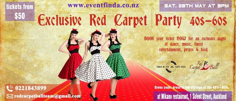 Exclusive Red Carpet Event 1940s-60s: POSTPONED
