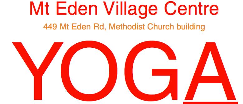 Yoga Mt Eden Monday Evenings