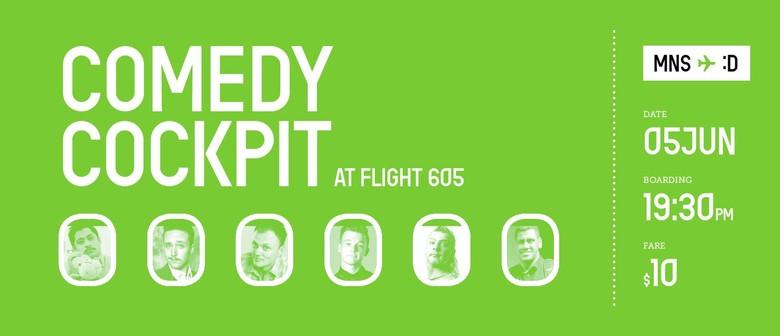 Comedy Cockpit at Flight 605 featuring David Correos