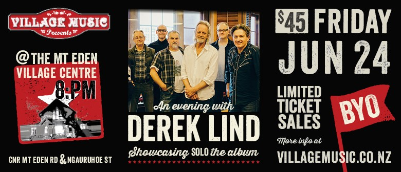An Evening With Derek Lind & Band