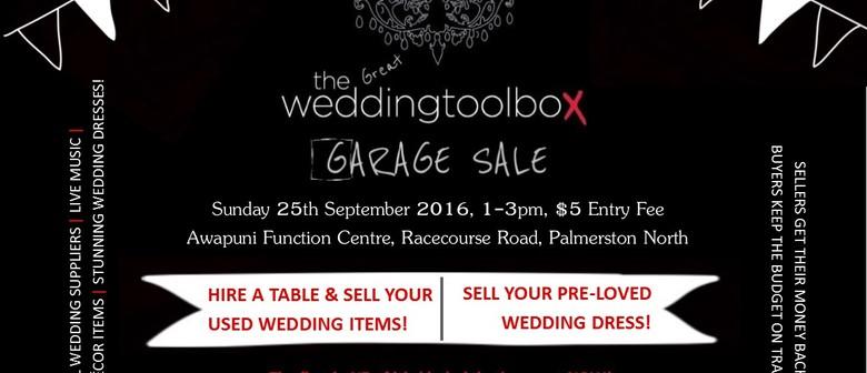 Wedding Garage Sale.The Great Weddingtoolbox Garage Sale