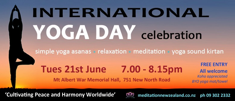 International Yoga Day Celebration With Kirtan Meditation
