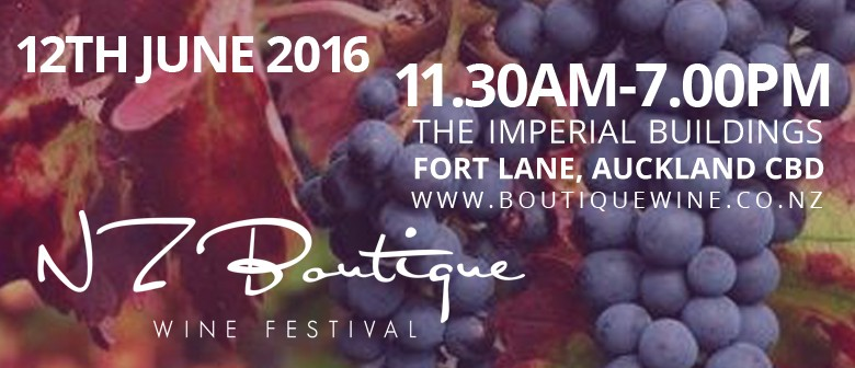 New Zealand Boutique Wine Festival 2016