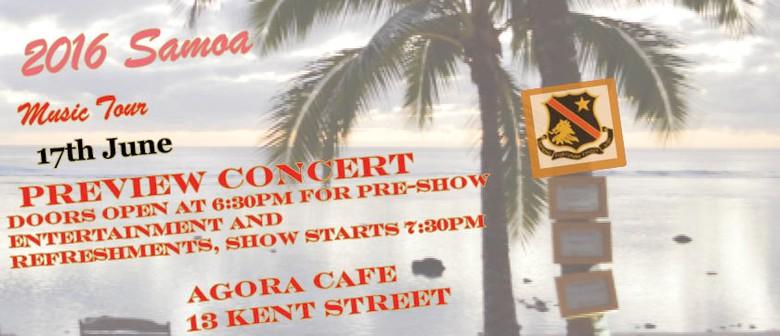 2016 Samoa Music Tour Preview Concert