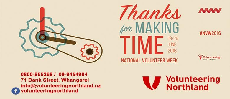 Volunteering Northland Stall in Kaitaia