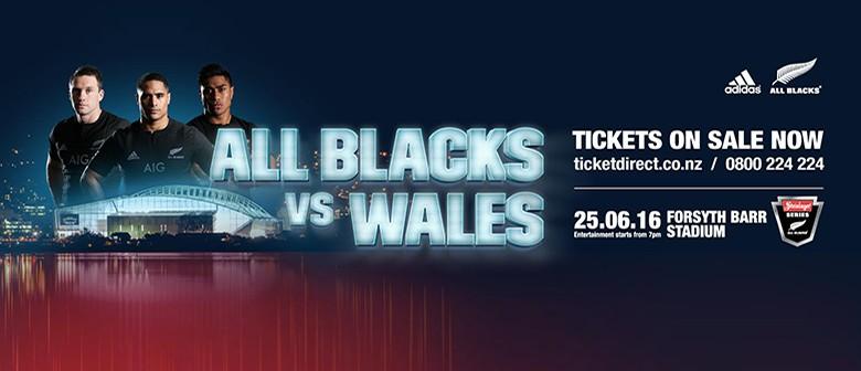 All Blacks v Wales -  Steinlager Series