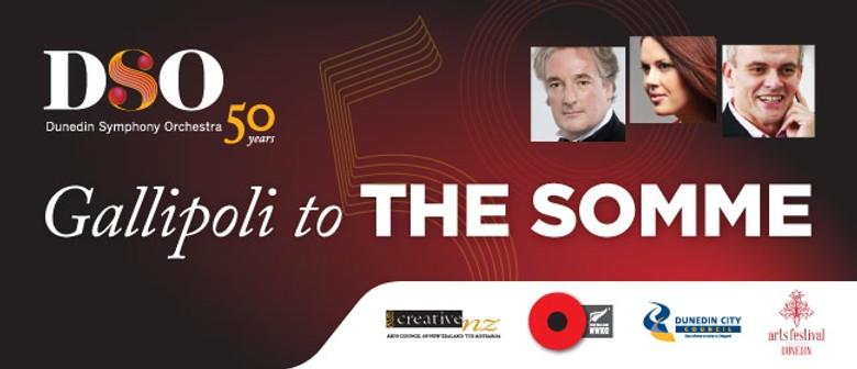 Dunedin Symphony Orchestra - Gallipoli to The Somme