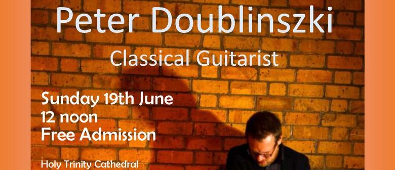 Classical Guitarist - Peter Doublinszki