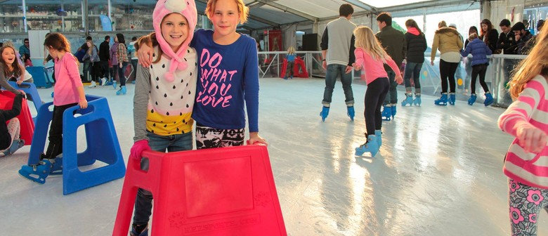 The Resene Cool Colour Wellington Ice Rink & Ice Slide