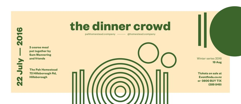 The Dinner Crowd - Winter Series