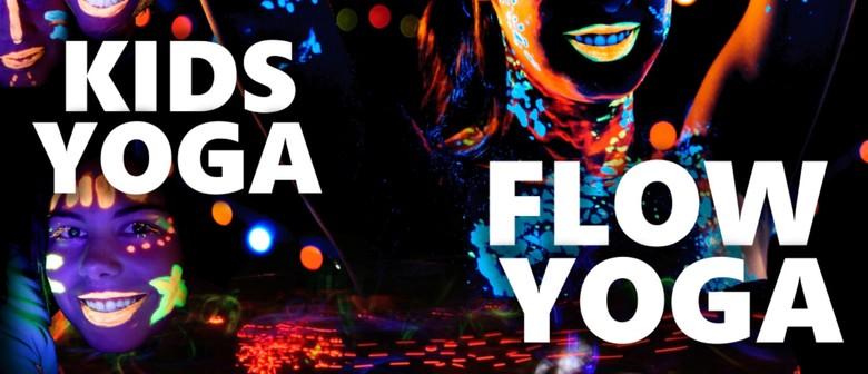 Glow Yoga Kids Story / Adult Vinyasa Yoga: CANCELLED