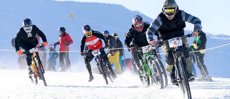 GoPro Mountain Bikes on Snow