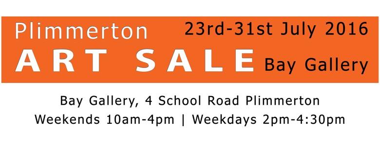 Art Sale - Plimmerton