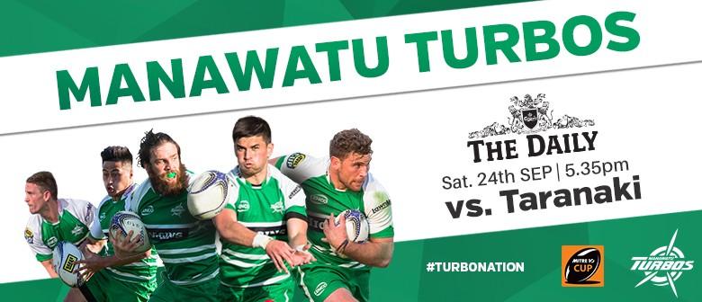 Manawatu Turbos vs Taranaki