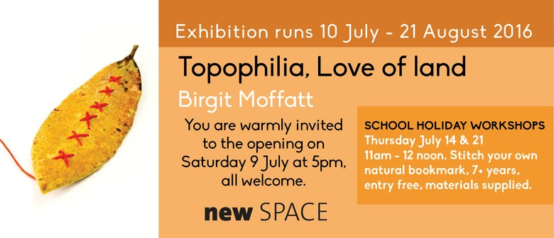 Opening - Topophilia Love of Land