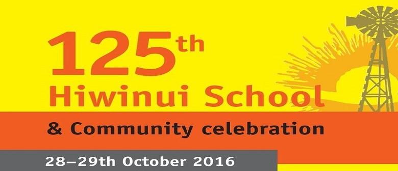 Hiwinui School 125th Celebration