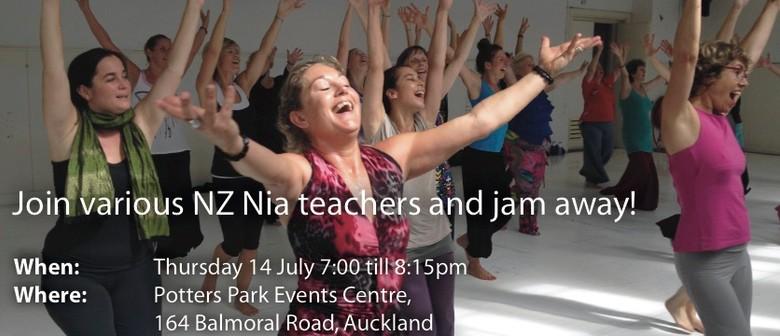 Nia Jam - Dance Party with Visiting Nia Teachers
