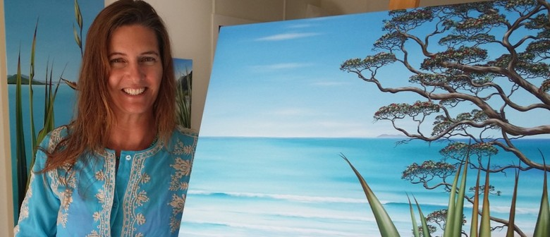 School Holiday Painting Class with Paula Knight