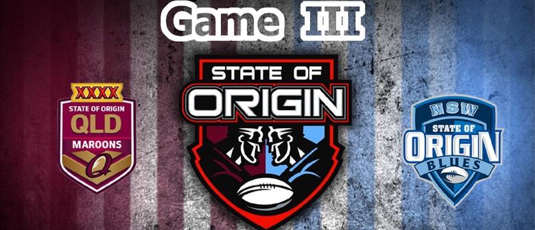 State of Origin - Game 3 Screening