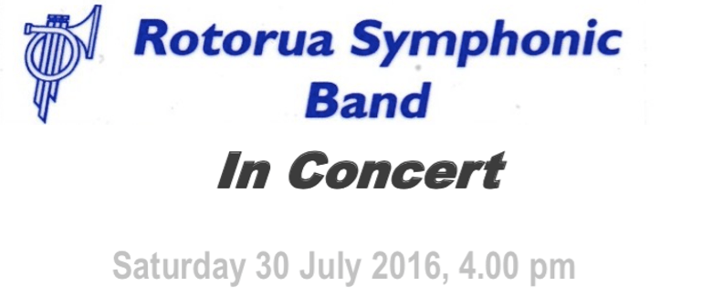 Rotorua Symphonic Band Concert With Special Guest