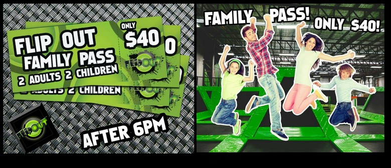 Grab an After 6 Flip Out Family Pass These School Holidays