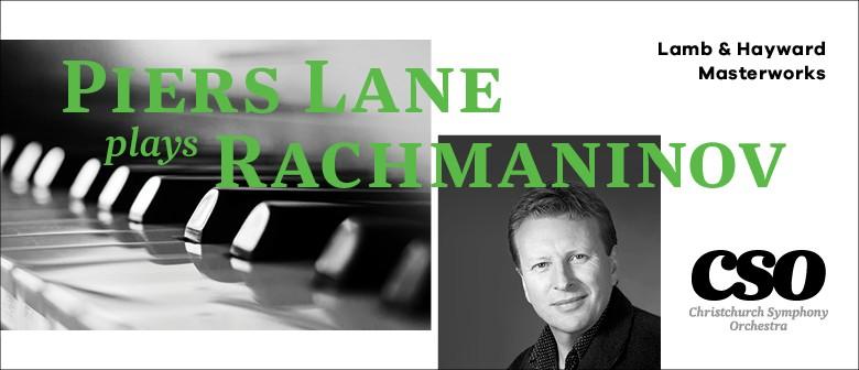 Lamb & Hayward Masterworks: Piers Lane plays Rachmaninov