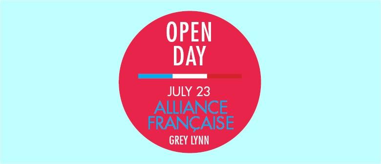 Alliance Francaise Open Day
