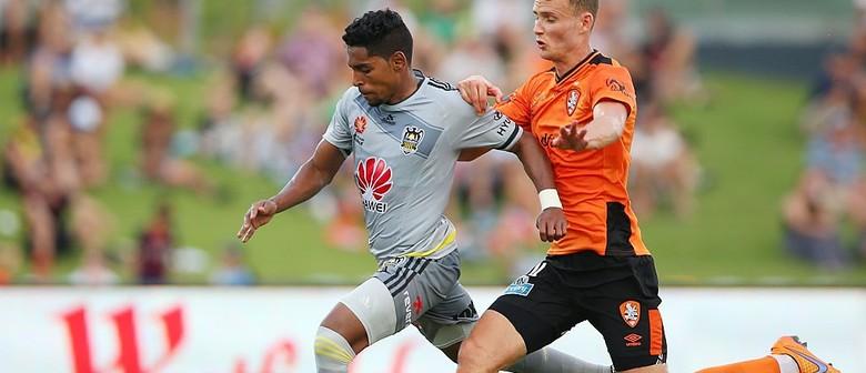 Hyundai A-League - Wellington Phoenix vs Brisbane Roar