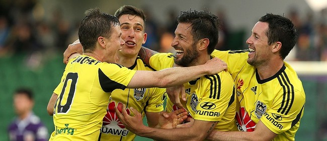 Hyundai A-League - Wellington Phoenix vs Perth Glory
