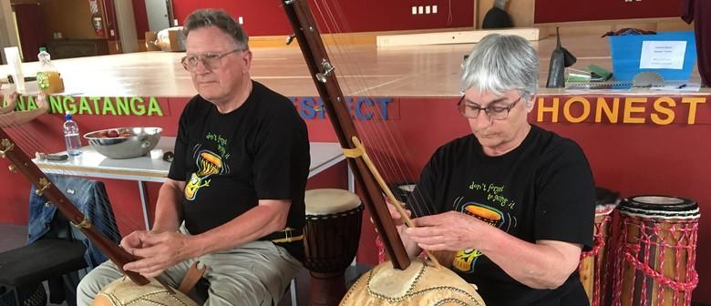 Inspired African Drumming In Kaiwaka