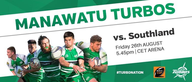 Manawatu Turbos vs Southland
