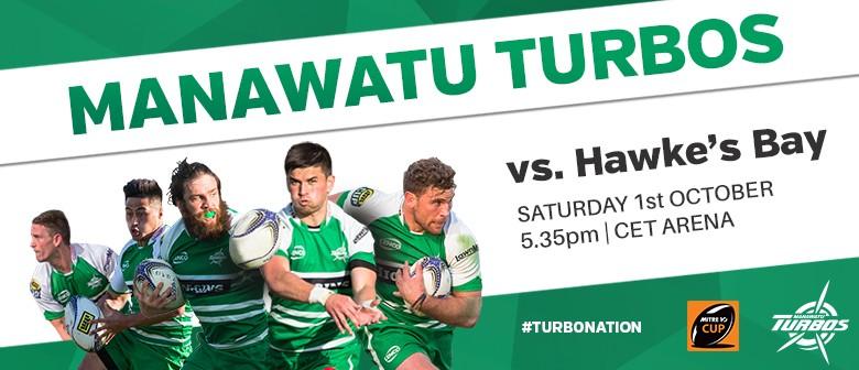 Manawatu Turbos vs Hawke's Bay