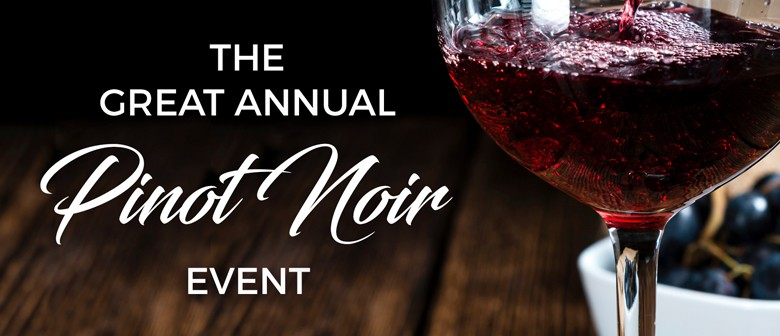 The Great Annual Pinot Noir