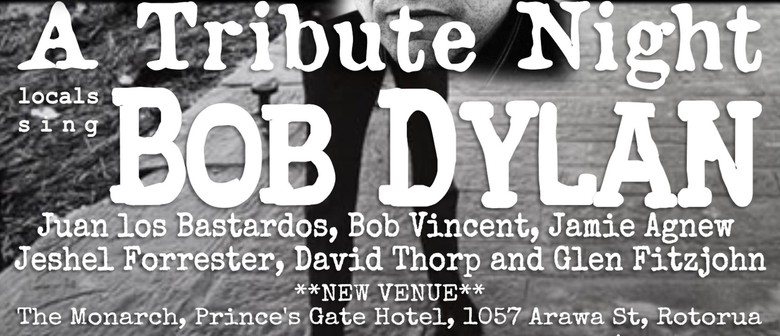 A Tribute Night: Locals Sing Bob Dylan