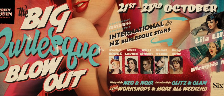 The Big Burlesque Blowout: Glitz & Glam