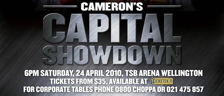 Cameron's Capital Showdown: POSTPONED