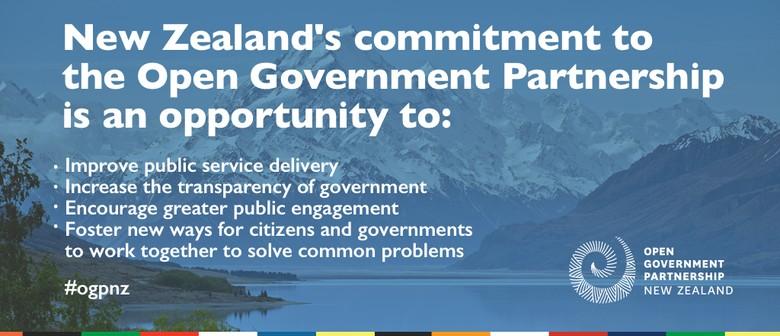 Open Government Partnership Workshop
