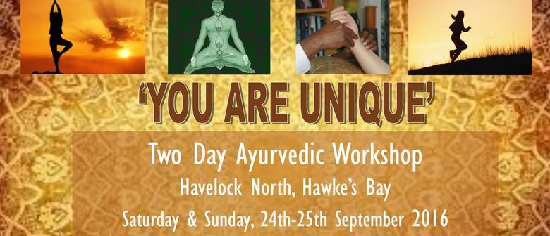 2 Day Ayurvedic Workshop