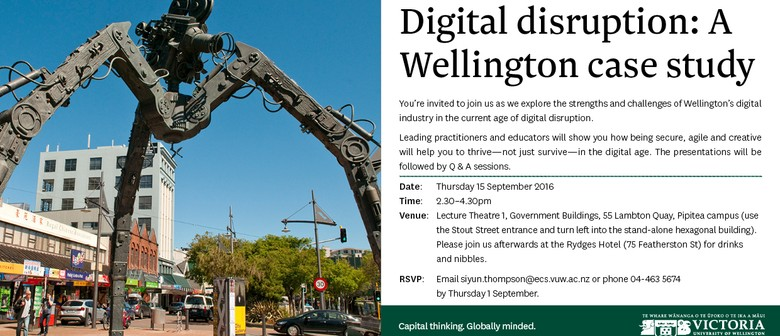 Digital Disruption: A Wellington Case Study