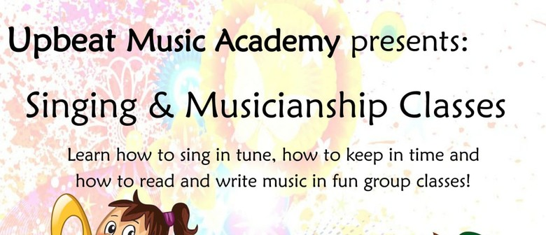 Singing and Musicianship Classes for 8 - 10 Year Olds