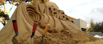 Orewa Beach Sand Castle Competition
