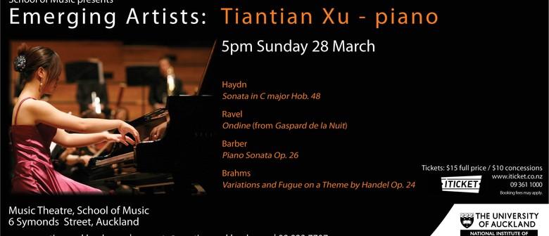 Emerging Artists: Tiantian Xu – Piano