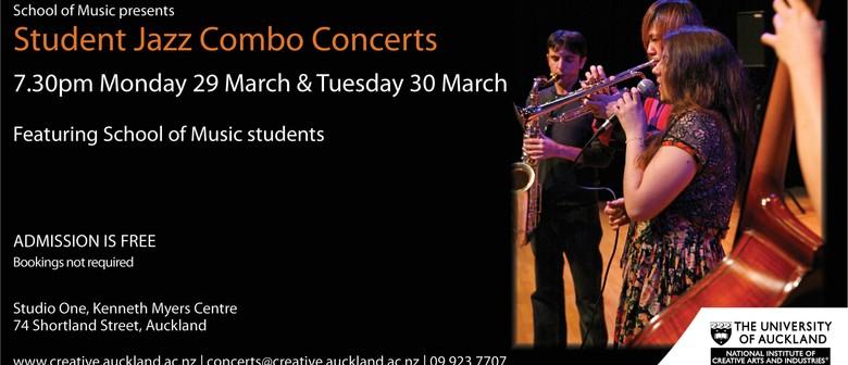 Student Jazz Ensemble Concerts: Jazz Combo Concert