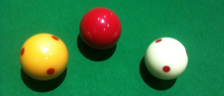Mike Pero of Cashmere - Christchurch City WR Open Billiards