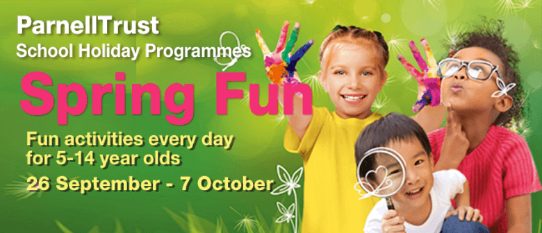 Inflatable World - Parnell Trust Holiday Programme