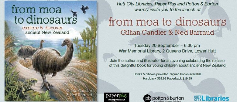Book Launch - From Moa to Dinosaurs