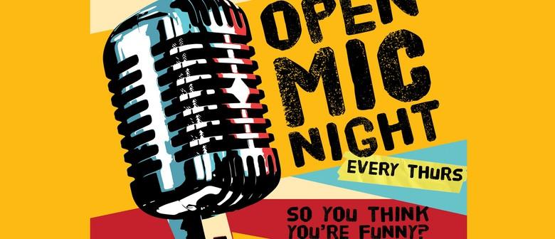 Open Mic Night with MC Paul Douglas