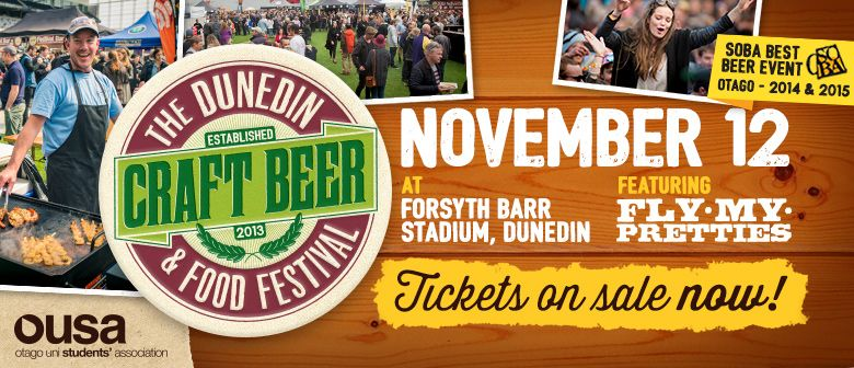 The Dunedin Craft Beer Amp Food Festival Dunedin Eventfinda