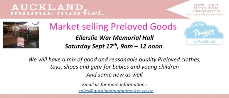 Auckland Mama Market - Preloved Goods for Babies & Young Kid